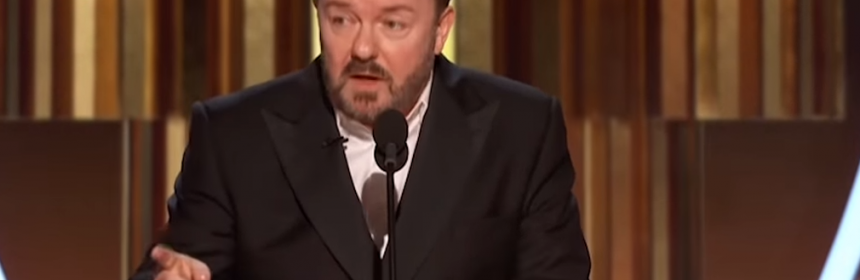 Ricky Gervais Golden Globe Awards 2020